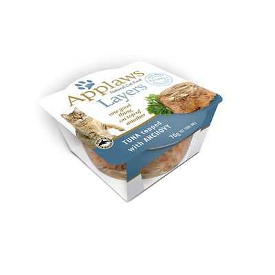 Applaws Adult Cat Food Natural Food Tuna & Anchovy