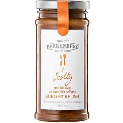 Beerenberg Relish Burger