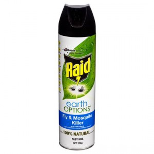 Raid Insect Spray Earth Options