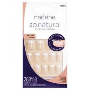 Nailene So Natural Nail Short Beige