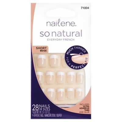 Nailene So Natural Nail Short Beige