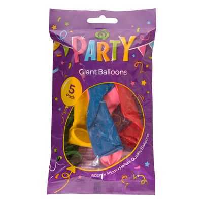 Party Balloons Giant
