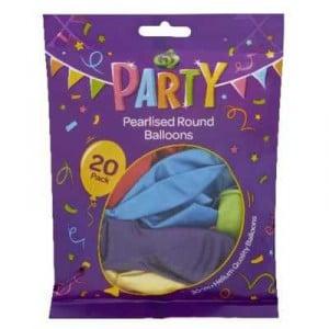 Party Balloons Metallic