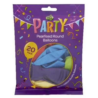 Party Balloons Metallic