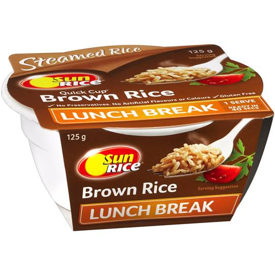 Sunrice Brown Rice Lunch Break Single Serve Cup