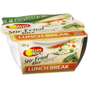 Sunrice Stir Frired Rice Lunch Break Single Serve Cup