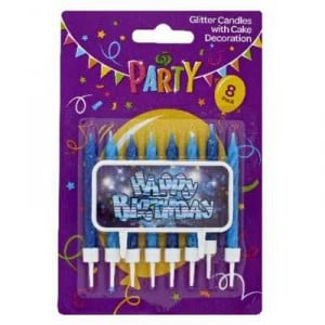 Party Candle Glitter
