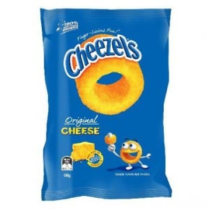 Cheezels Cheese Snack Original Cheese