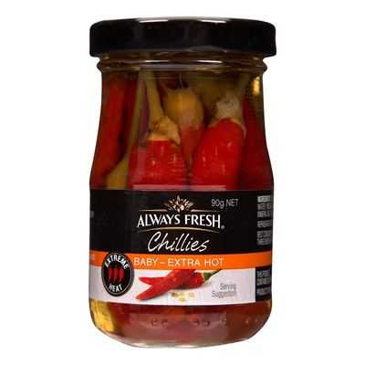 Always Fresh Chillies Piri Piri