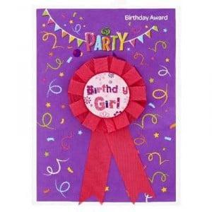 Party Favours Novelty Birthday Ribbon