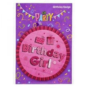Party Favours Novelty Birthday Badge