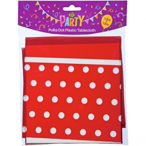 Party Entertaining Tablecloth Dots