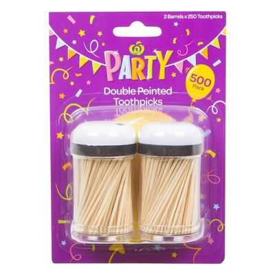Party Entertaining Toothpicks Double