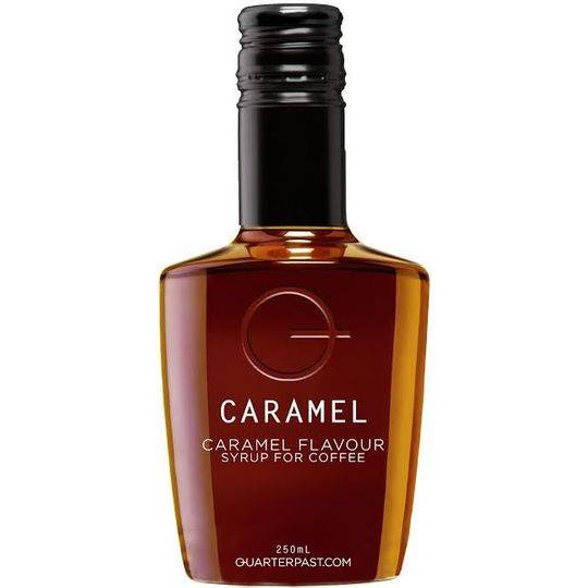 Quarterpast Coffee Caramel Syrup Flavouring