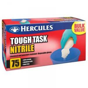 Hercules Gloves Tough Task Ntrile