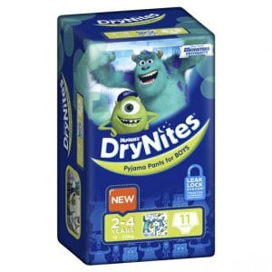 Huggies Drynites Pyjama Pants Boy 2-4 Yrs