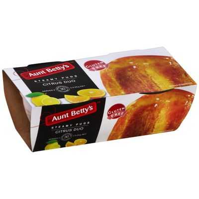 Aunt Bettys Citrus Duo Gluten Free Pudding