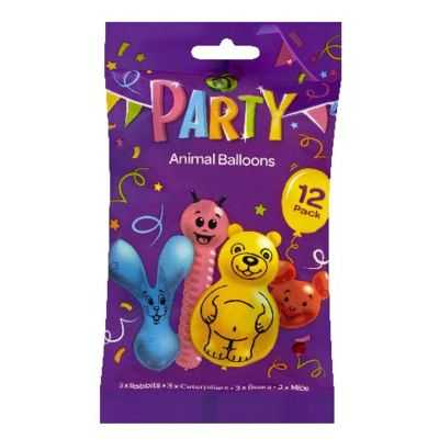 Party Balloons Animals