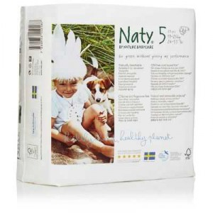 Naty By Nature Babycare Nappies Size 5