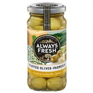 Always Fresh Olives Parmesan Stuffed