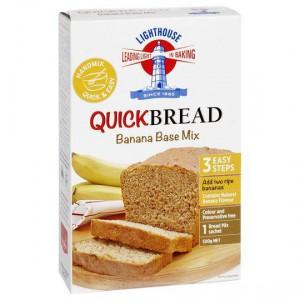 Lighthouse Banana Base Mix Quick Bread