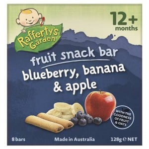 Rafferty's Garden Snack Snack Blueberry Banana Apple