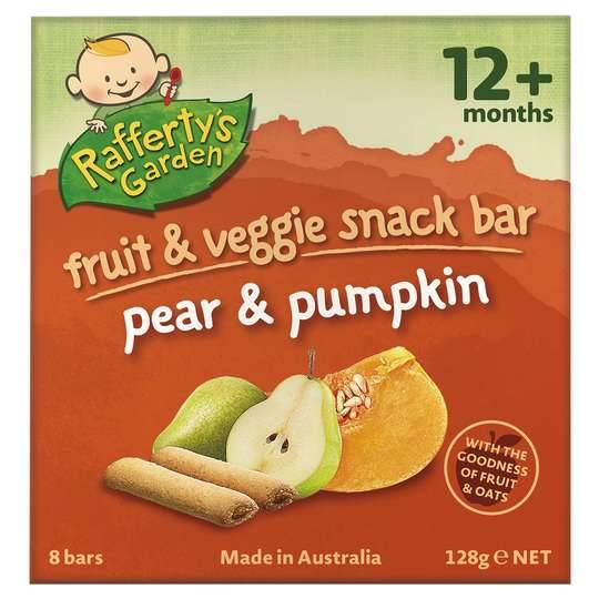 Rafferty's Garden Snack 12 Months+ Pear & Pumpkin