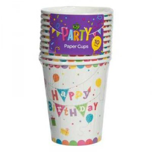 Party Entertaining Paper Cups