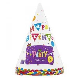 Party Costume Hats Happy Birthday