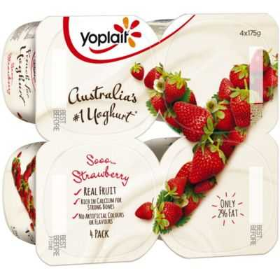 Yoplait Strawberry Yoghurt