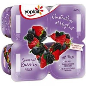 Yoplait Seasonal Yoghurt