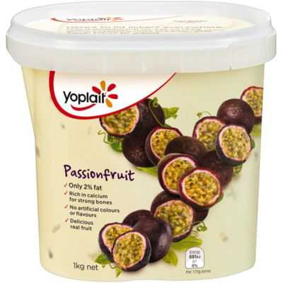 Yoplait Passionfruit Yoghurt