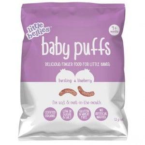 Little Bellies Baby Puffs Bursting Blueberry