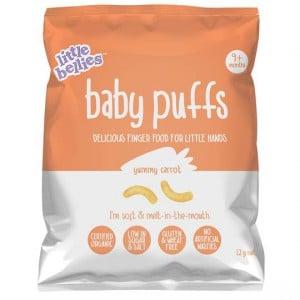 Little Bellies Baby Puffs Yummy Carrot