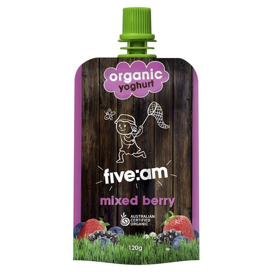 Five:am Organic Mixed Berry Yoghurt