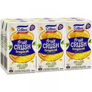 Cottees Tropical Burst Fruit Crush