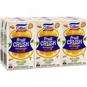 Cottees Orange Fruit Crush