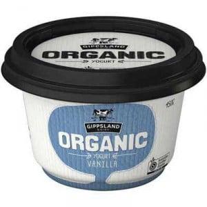 Gippsland Vanilla Yoghurt