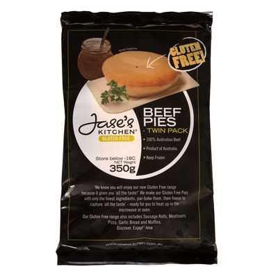 Jase's Kitchen Pies Beef Gluten Free