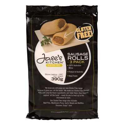 Jase's Kitchen Sausage Rolls Gluten Free