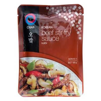 Obap Stir Fry Sauce Korean Beef