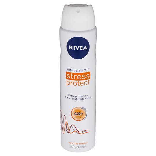 Nivea Deodorant Aerosol Stress Protect