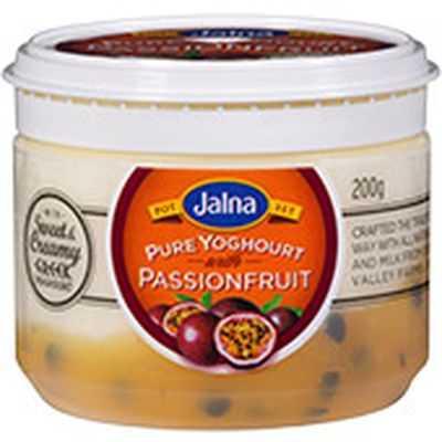 Jalna Pure Passionfruit Yoghurt