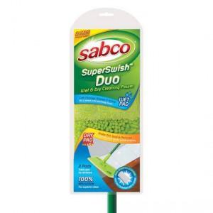 Sabco Superswish Duo Microfibre Flat Mop
