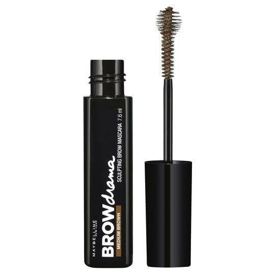 Maybelline Brow Drama Sculpting Brow Mascara Medium Brown