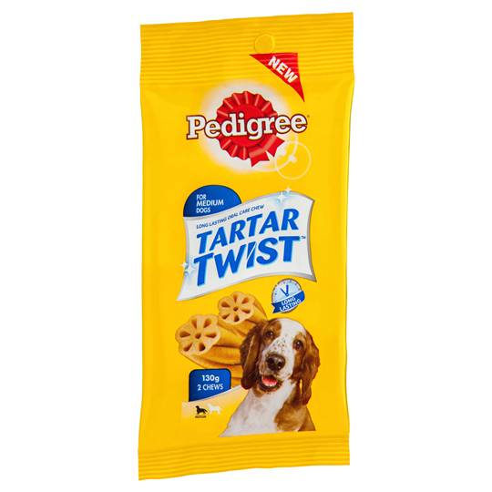 Pedigree Treat Tartar Twist Medium