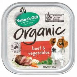 Nature's Gift Adult Dog Food Organic Beef & Veg
