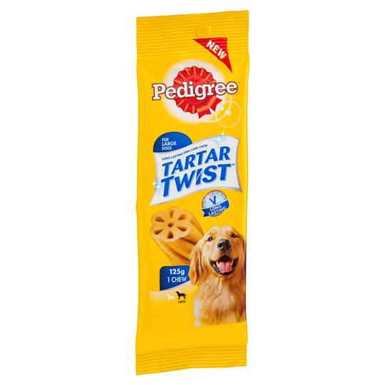 Pedigree Treat Tartar Twist Large