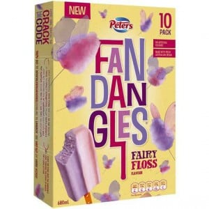 Peters Fandangles Ice Cream Fairy Floss