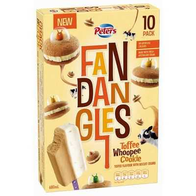 Peters Fandangles Ice Cream Toffee Whoopee Cookie